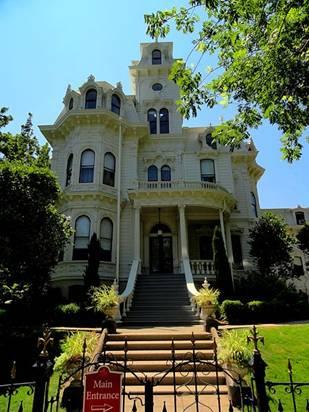 加州州长官邸旧址(照片:Amadscientist)
