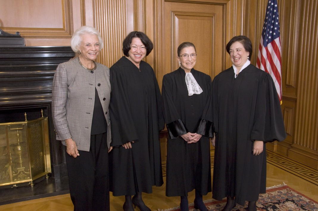 Four female U.S. Supreme Court justices (© AP Images)