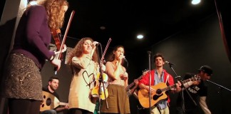 Israeli-Palestinian music group Heartbeat plays a show