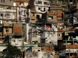 Houses built up vertical surface (AP Images)
