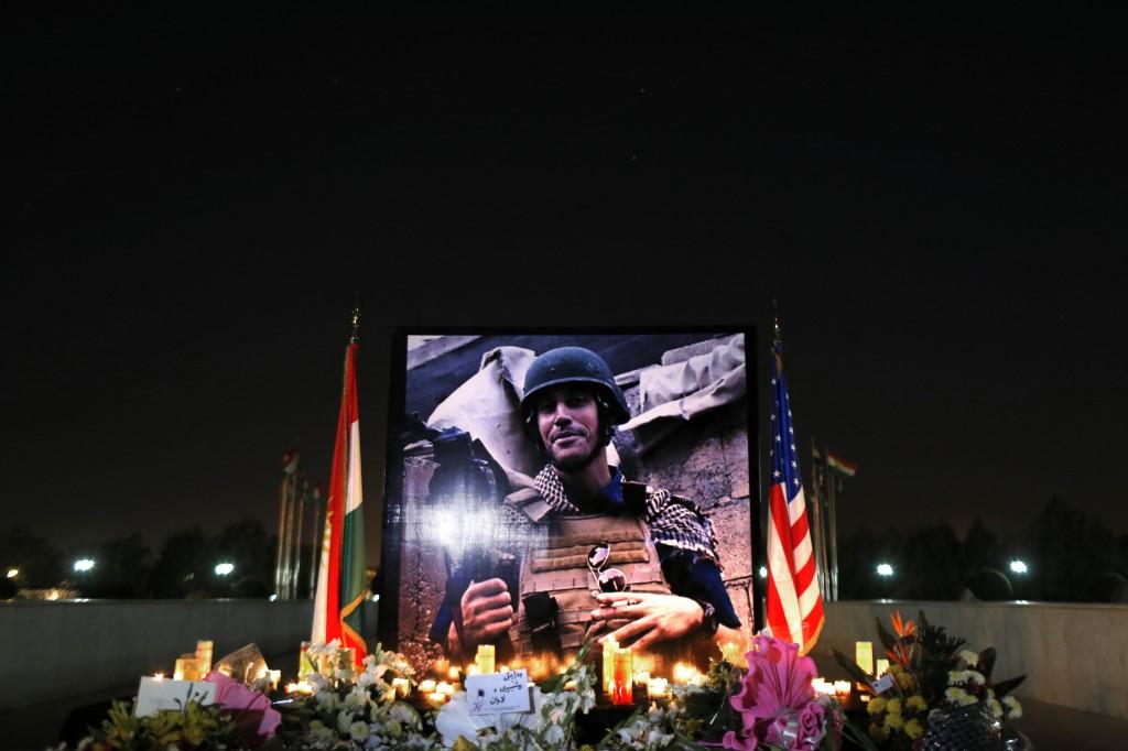 Memorial de James Foley (AP Images)