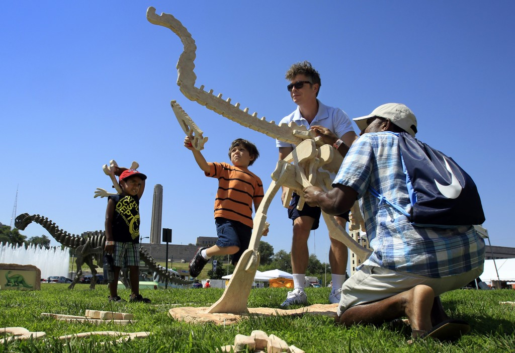 Make your own beast at the Maker Faire in Kansas City. (AP Images)