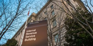 Sede central del Servicio de Rentas Internas (IRS) (© AP Images)
