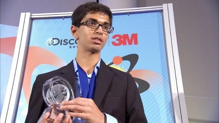 Sahil Doshi a été nommé « Meilleur jeune scientifique d'Amérique ». (David Singer/The Almanac)