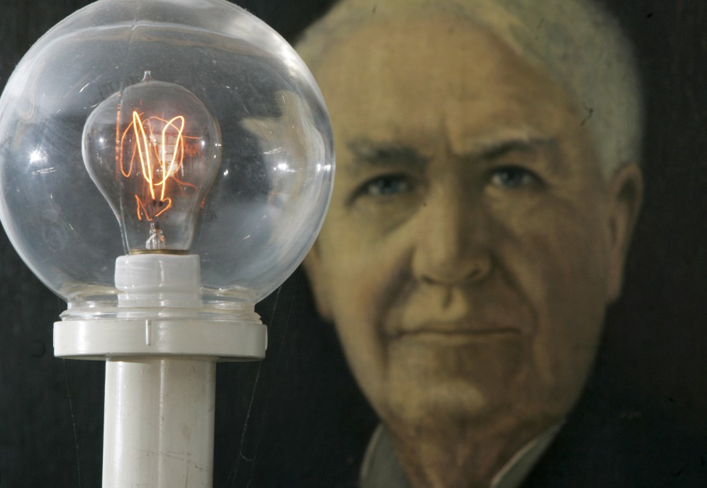 Edison Invents The Light Bulb On This Day Share America