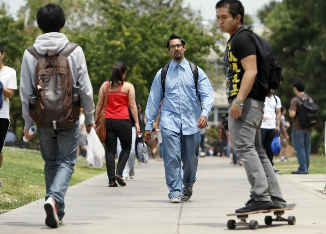 加州大学河边城分校(University of California at Riverside) 校园(AP Images)