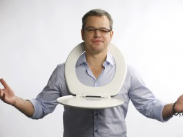 Matt Damon has announced a toilet strike to raise awareness of sanitation problems around the world (AP Images)