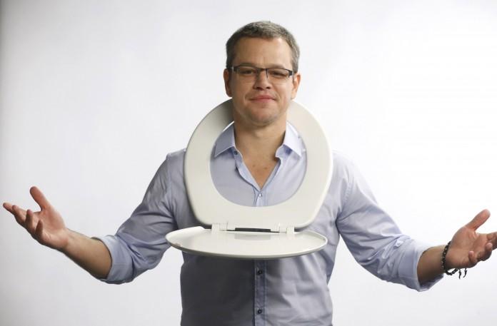 Matt Damon has announced a toilet strike to raise awareness of sanitation problems around the world (AP Images)