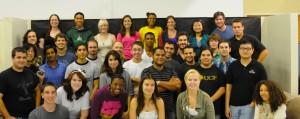 Miembros del equipo Omega posan en grupo (Foto cedida por Earthrise Space Foundation Inc.)