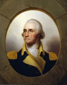 Portrait painting of George Washington (The De Young Museum)