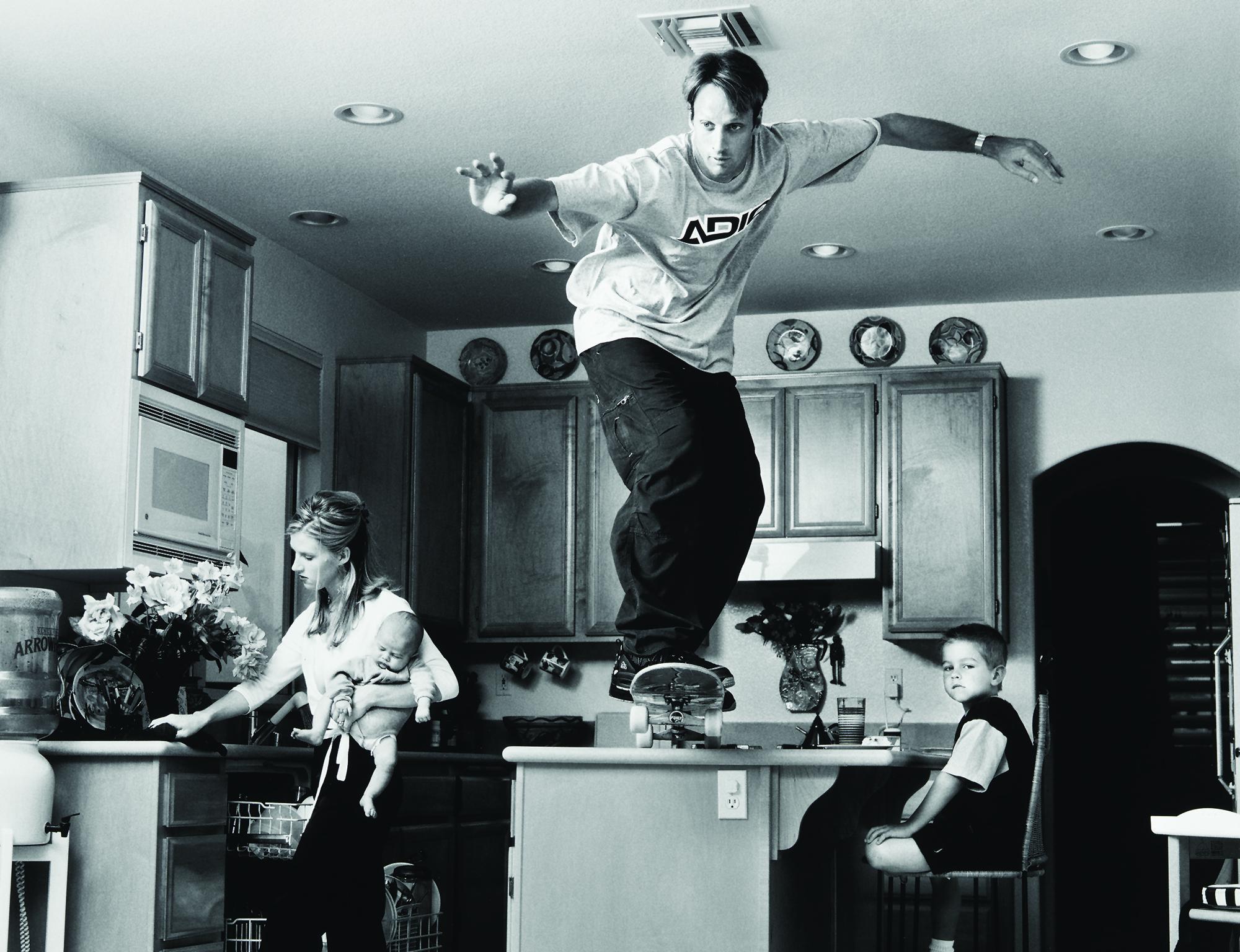 Tony Hawk Young Skateboarding