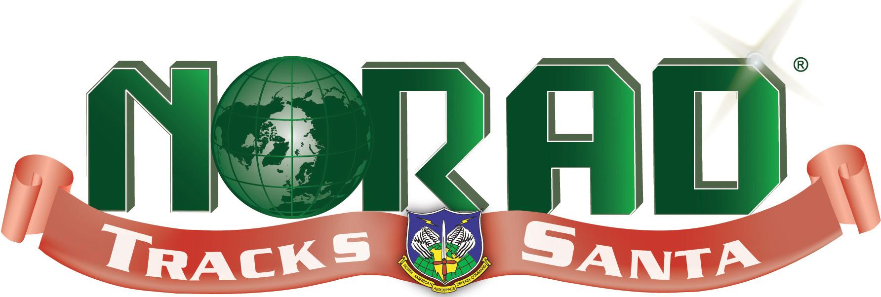 """""""NORAD Tracks Santa"""" logo (NORAD)"""