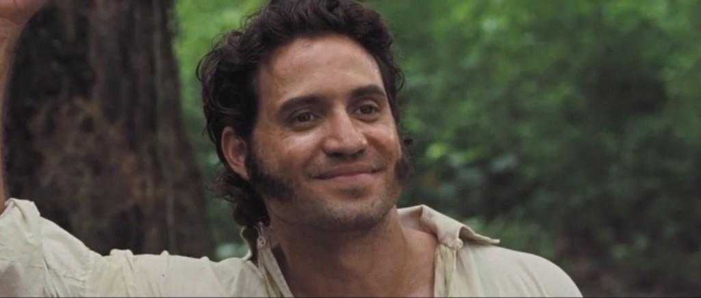 الممثل إدغار راميريز الذي يؤدي دور سيمون بوليفار (Cohen Media Group)