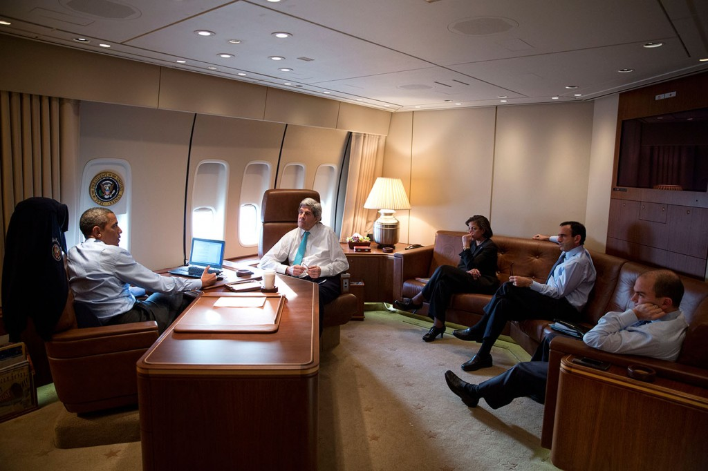 Air force one the traveling white house shareamerica Air force one interior