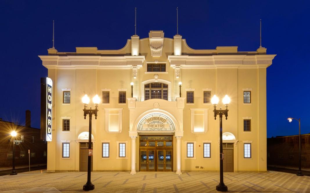 المنظر الخارجي لمسرح هوارد (Courtesy Howard Theatre)