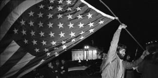 Una protesta en 1971 contra la Guerra de Vietnam delante de la Casa Blanca (© AP Images)