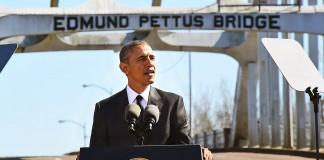 پرزیدنت اوباما پشت تریبون (تصاویر آسوشیتد پرس)