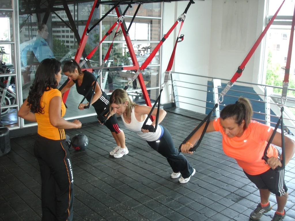 Des gens qui s'exercent dans un centre de gym (avec l'autorisation de BodyTech)