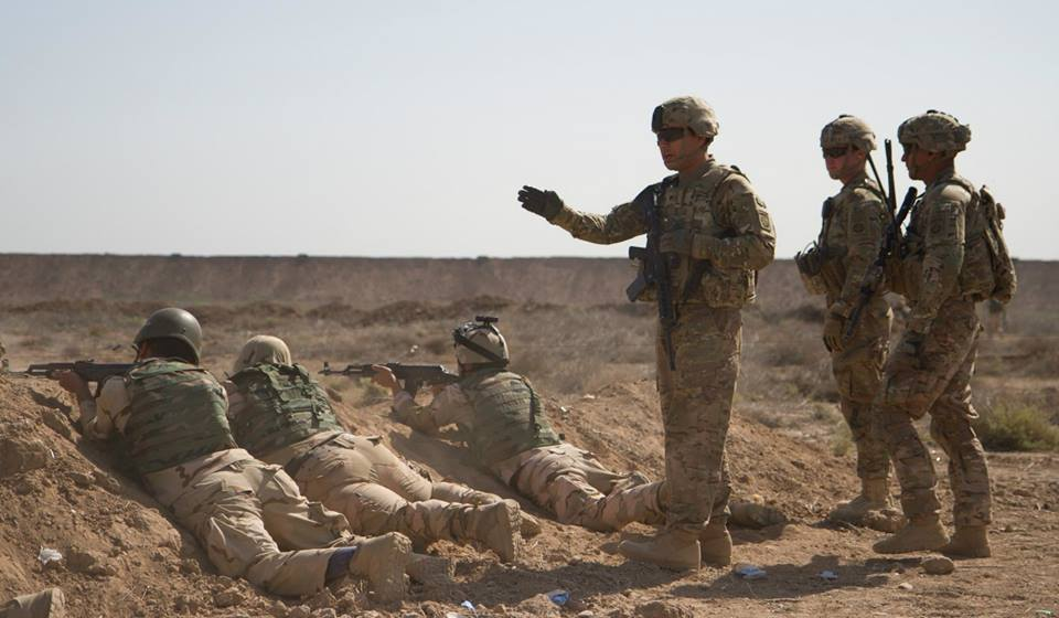 سربازان درعراق (وزارت دفاع)
