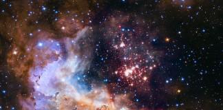 Cosmic array like fireworks