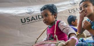 اطلاعاتی درباره کمک ایالات متحده به زلزله نپال