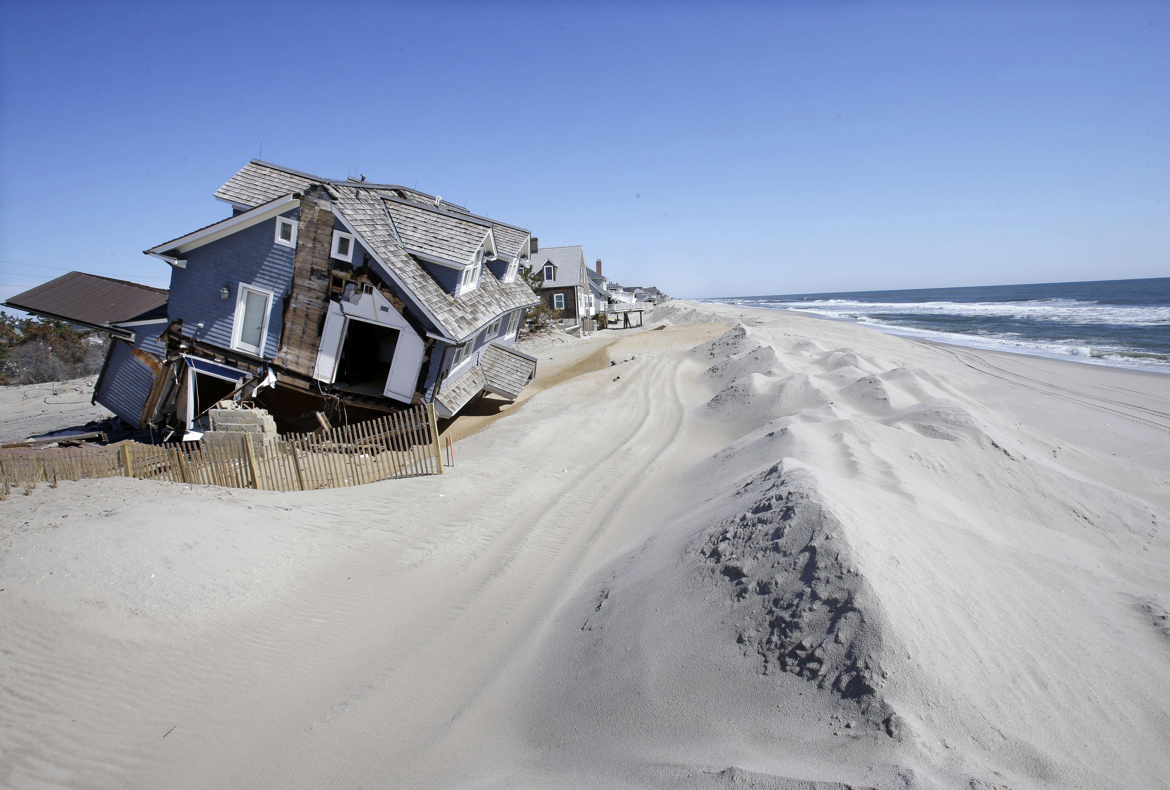 L oc an gagne du terrain que faire - Plan de maison bord de mer ...