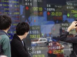 بازار بورس ژاپن (عکس از اسوشیتدپرس)