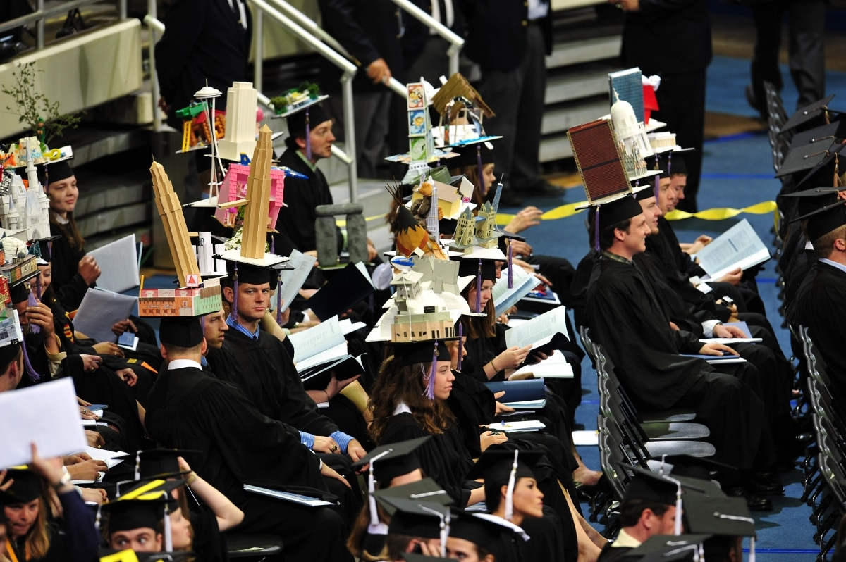 Quirky College Graduation Traditions Shareamerica