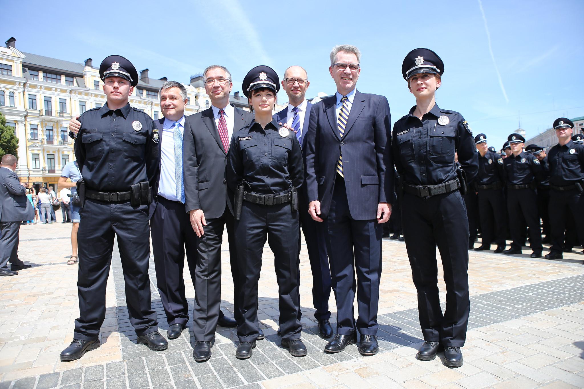 ukraine u0027s new generation of police officers shareamerica