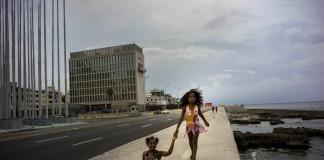 سفارت ایالات متحده در کوبا (عکس از آسوشیتدپرس)