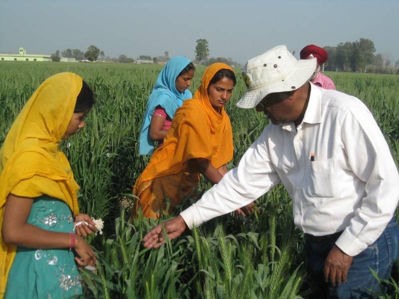 عائلات المزارعين في راجارام (World Food Prize.org)