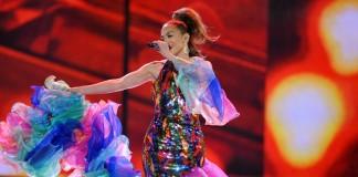 Jennifer Lopez en train de chanter (© AP Images)