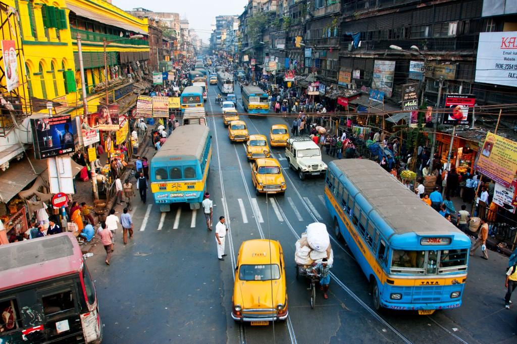 Embouteillage en zone urbaine (Crédit photo : Shutterstock)