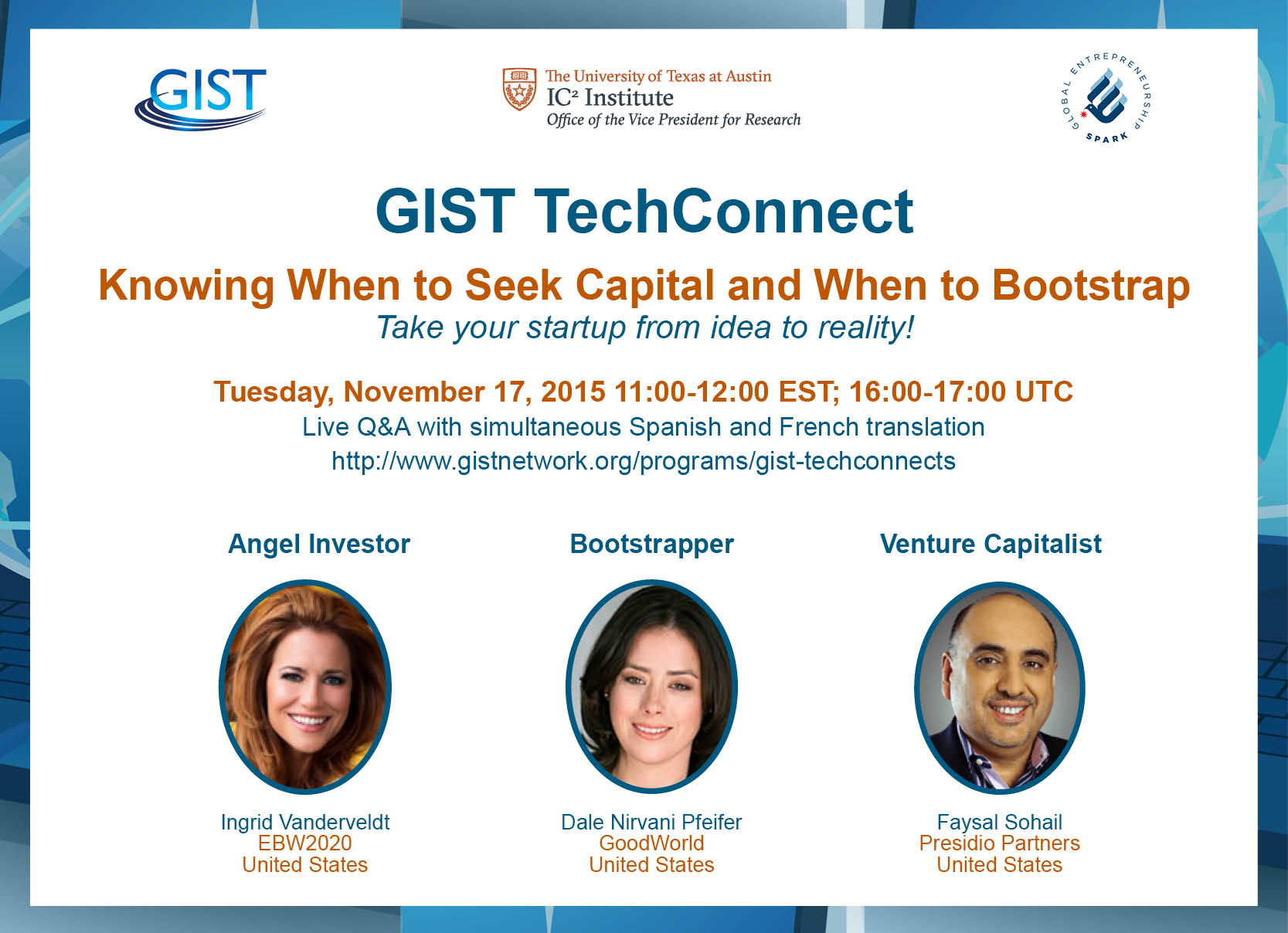 ADAPTED2 GIST TechConnect Novbanner
