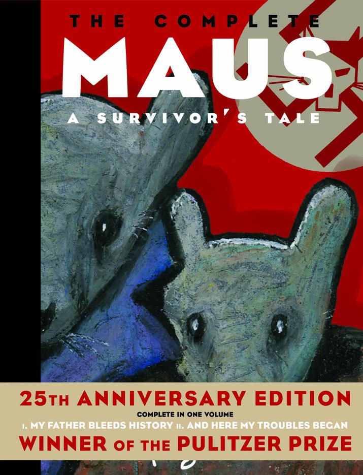 Couverture de The Complete Maus: A Survivor's Tale (© Art Spiegelman)