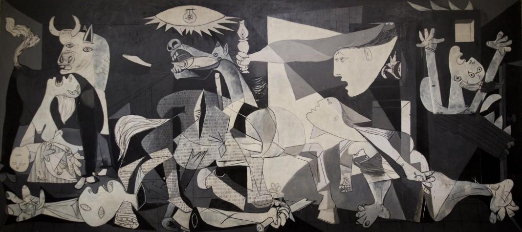 Le tableau « Guernica » de Pablo Picasso (© AP Images)