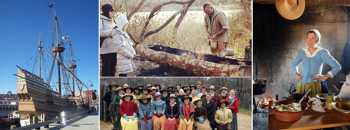На Плимутской плантации воссоздана жизнь пилигримов (Courtesy of Plimoth Plantation)
