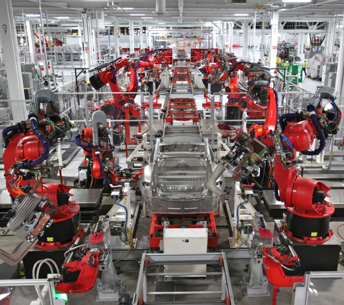 restructuring of the automobile industry through the use of robotics Automation & robotics in automotive manufacturing 2014-2024 japan automobile manufacturers association robotics industry association.