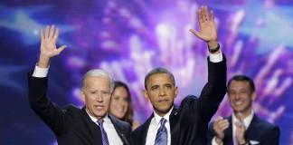 پرزیدنت اوباما و جو بایدن، معاون رئیس جمهوری (عکس از آسوشیتدپرس)