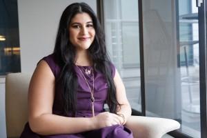 دنیا ناصر، ناظر جوان ایالات متحده در سازمان ملل (عکس از وزارت امور خارجه)