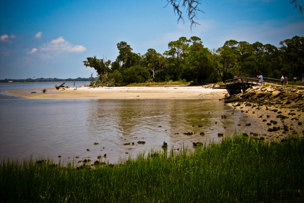 Nature scene of Jekyll Island (Wikimedia Commons)