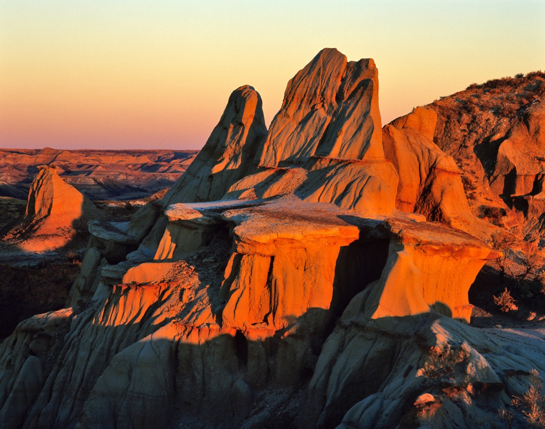 Rock formations in sunset (© Danita Delimont/Alamy Stock Photo)
