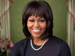 Portrait de Michelle Obama (Maison Blanche)