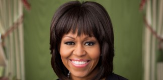 Portrait of Michelle Obama (White House)