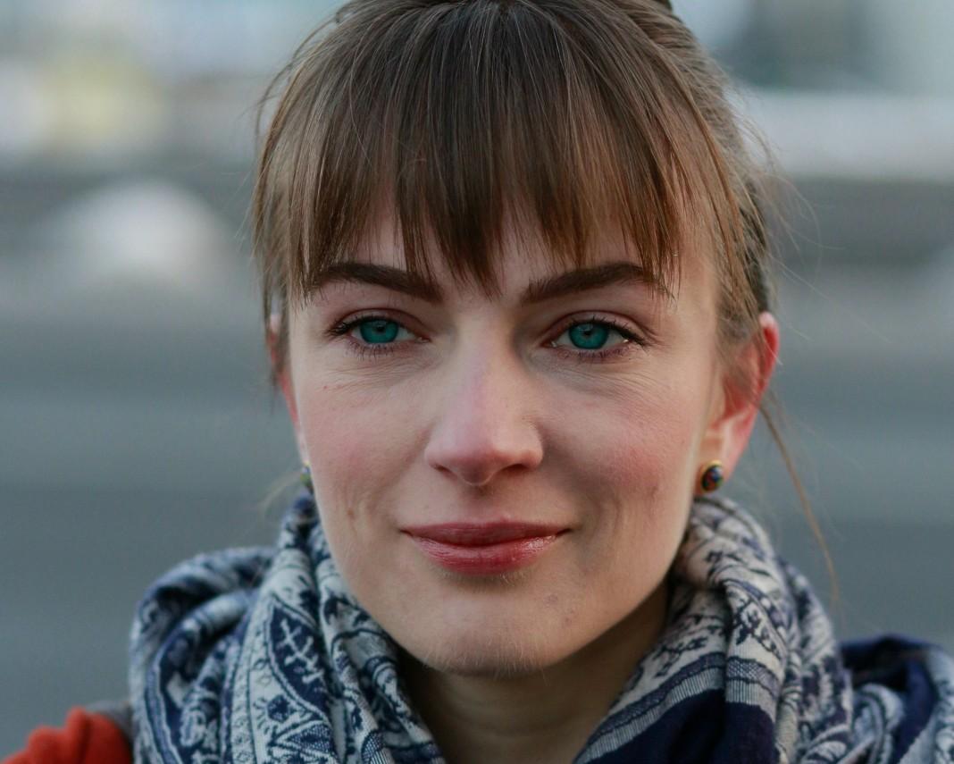Close-up of Oleksandra Matviychuk (Courtesy of Oleksandra Matviychuk)