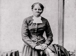 Historical photo of abolitionist Harriet Tubman (© AP Images/Library of Congress)