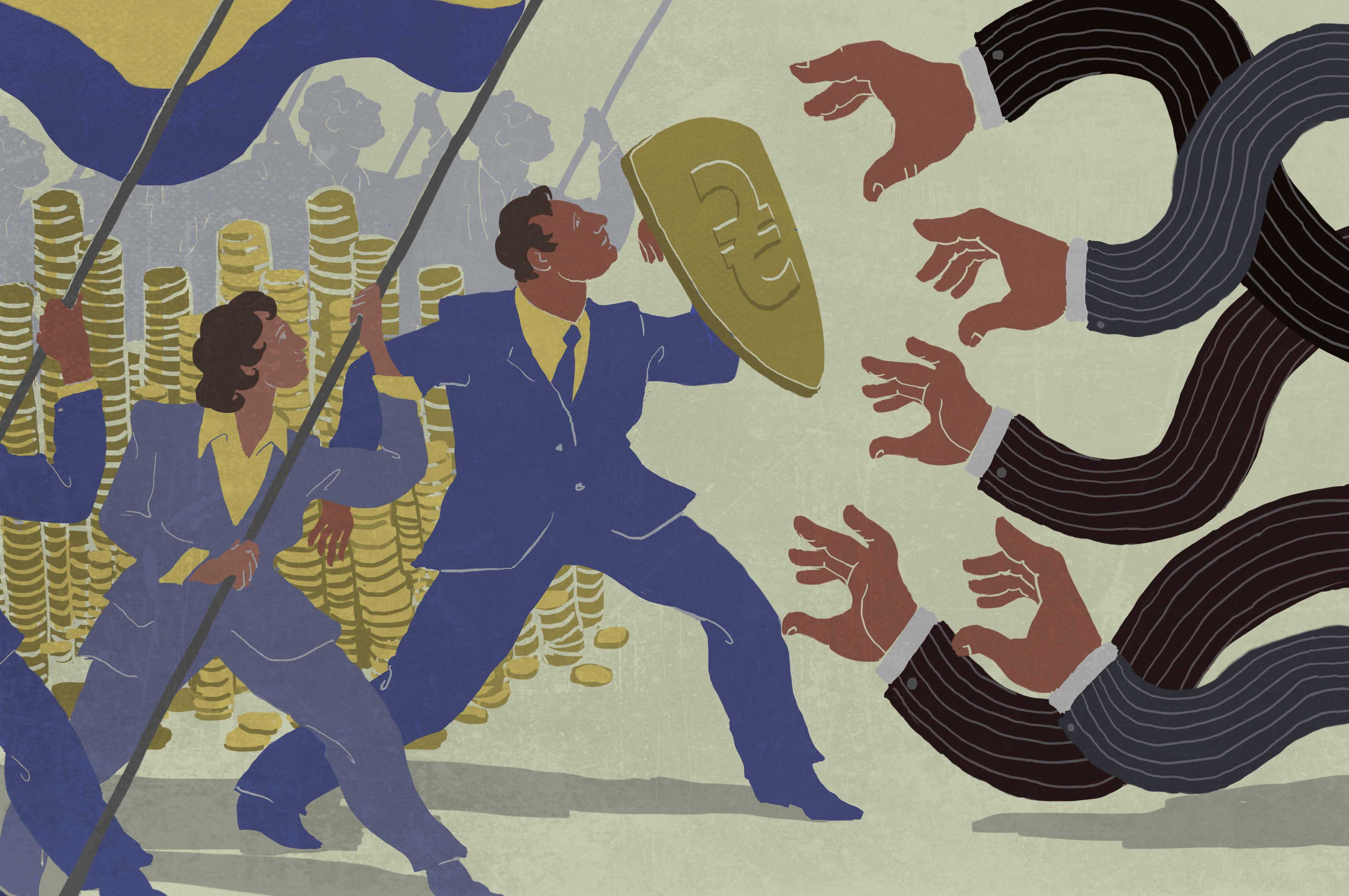 Ucrania aumenta su lucha contra los delitos financieros for Oficina nacional de lucha contra los delitos de odio