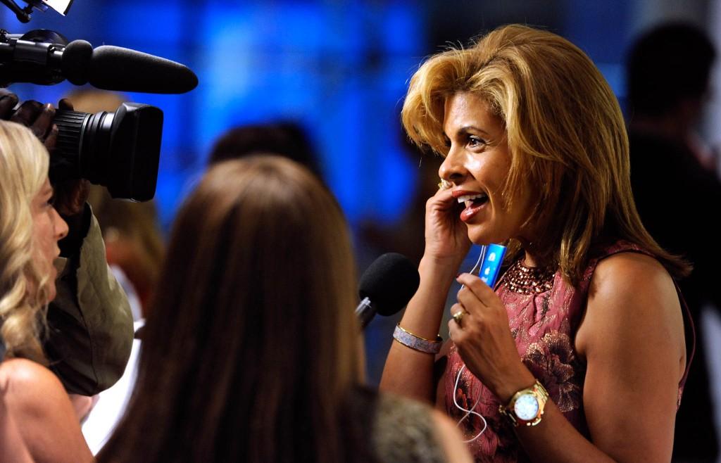 Hoda Kotb talking into video camera (© AP Images)