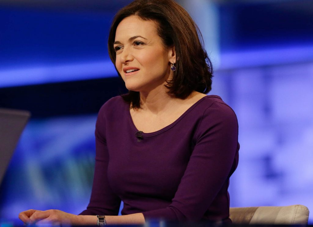 Facebook chief operating officer Sheryl Sandberg (© AP Images)