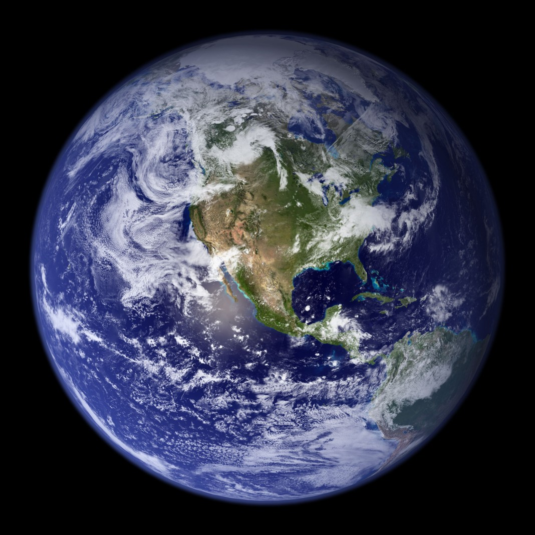 Earth seen from space (NASA)